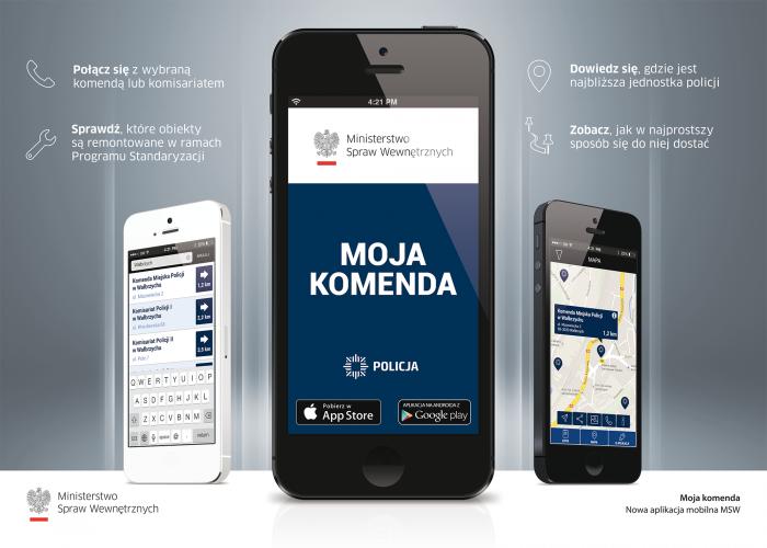 MOJA KOMENDA - Zachęcamy do korzystania z aplikacji zgłoszeniowej incydenty.