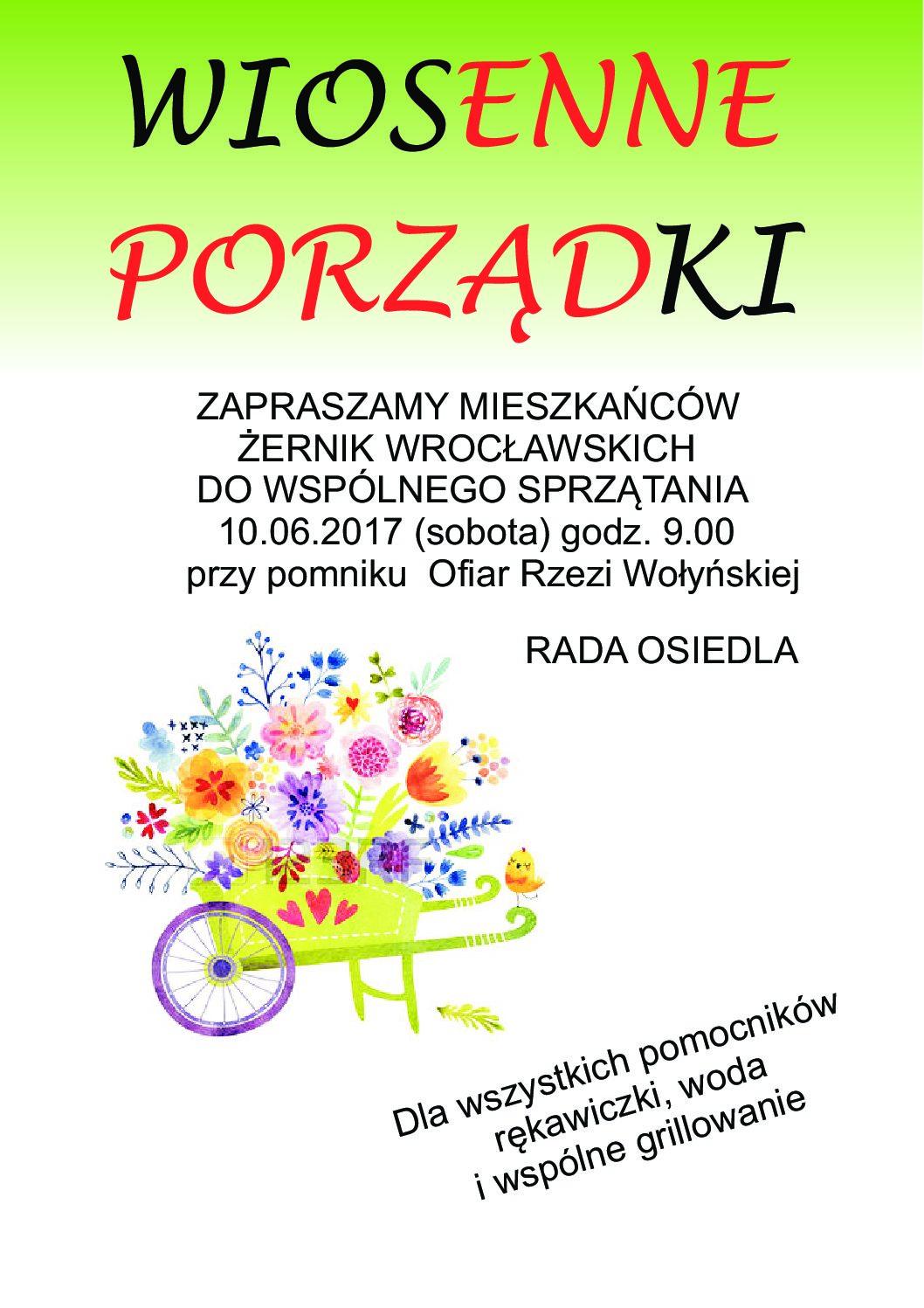 WIOSENNE PORZĄDKI - 10.06.2017