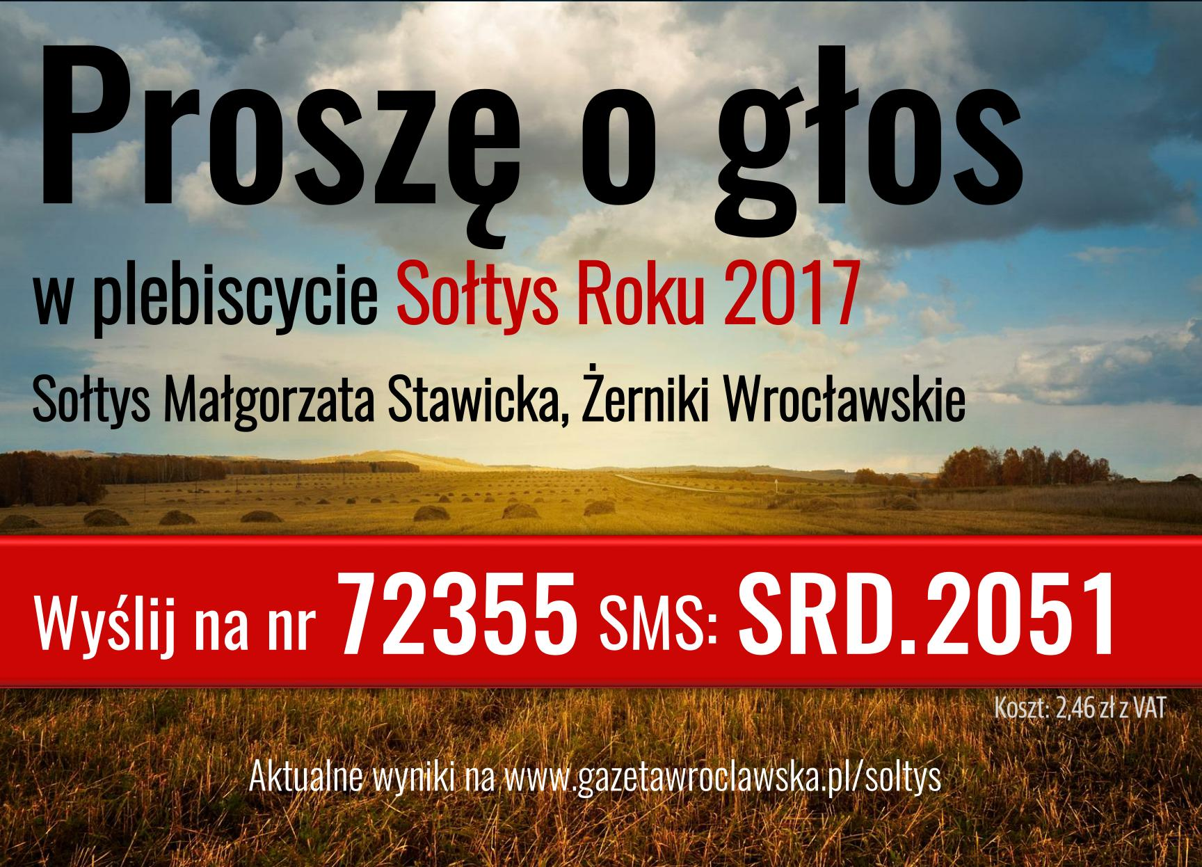 Głosowanie na Sołtysa Roku 2017.